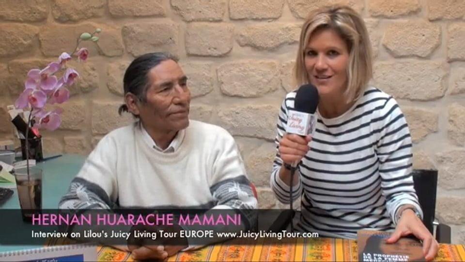 La prophétie de la femme médecine - Hernan Huarache Mamani